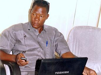 Boukary Daou, directeur du quotidien Le Républicain, arrêté le 6 mars dernier. Ph.Rfi