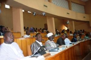 Les députés se sont montrés sages durant ce long discours (Ph: B24)