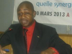 Germain Zong-Naba Pimé, le 30 mars 2013. Ph.B24