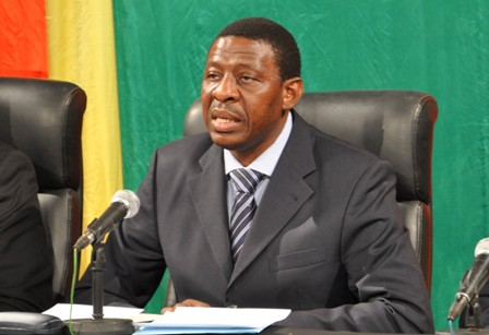 Alain Édouard Ouédraogo, Ministre de la communication et Porte Parole du Gouvernement. Ph. Archives B24