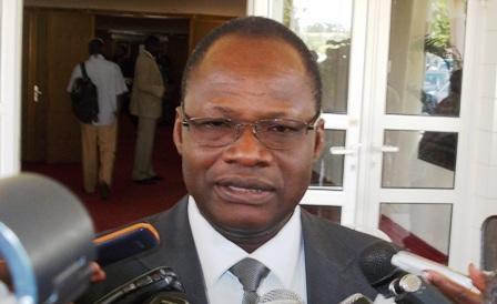 Vincent Zakané, ministre du travail et de la sécurité sociale.
