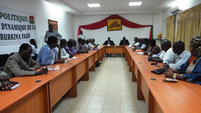 Zéphirin Diabré a proposé ses cinq chantiers aux partis politiques (Ph : B24)