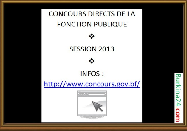 concours directs B24 2