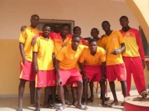 Joueurs du complexe sportif Noaga Ouédraogo