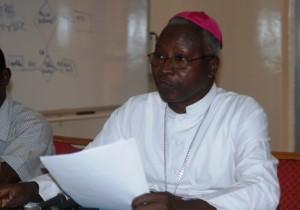 Mgr Philippe Ouédraogo, Archevêque de Ouagadougou (Ph : B24)