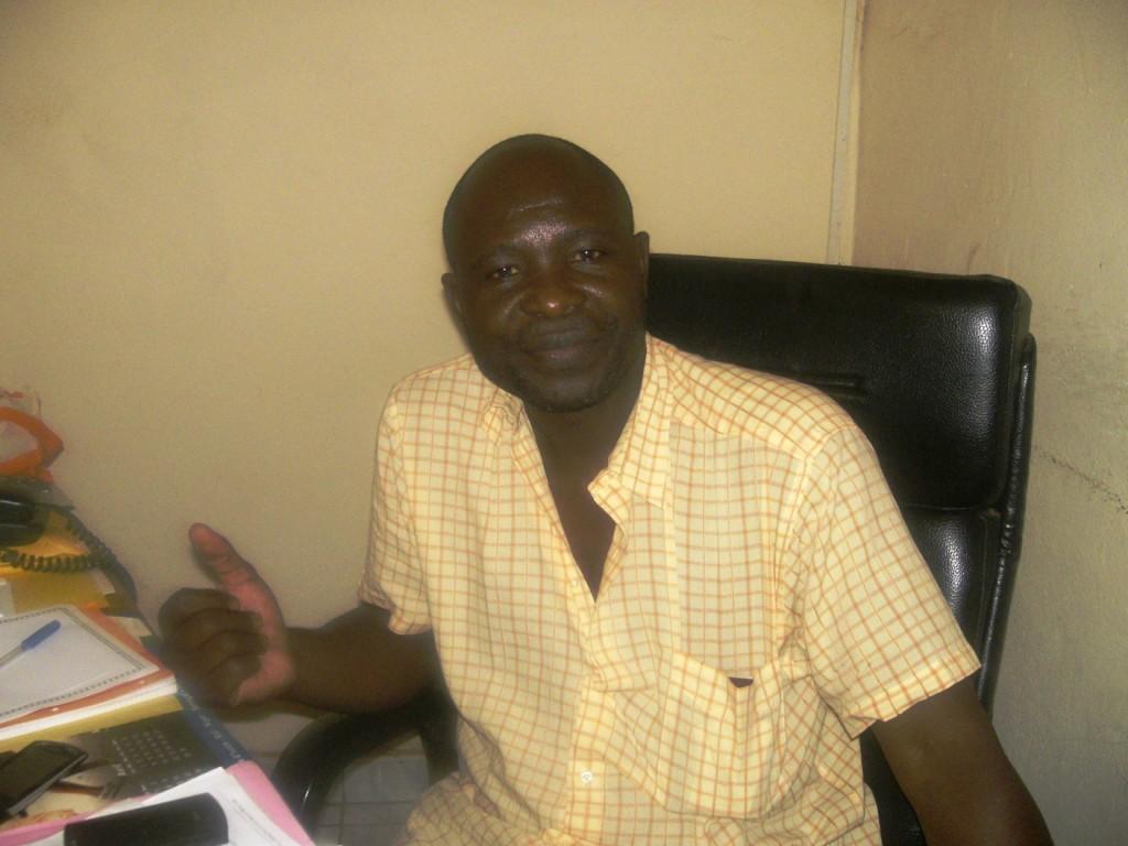 Urbain KAM, Président de l'ASPAC. Ph.B24