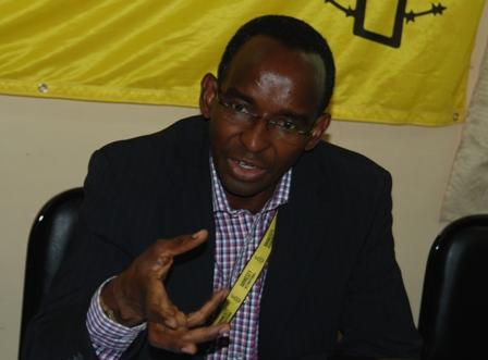 Le Directeur exécutif d'Amnesty International Burkina Faso, Yves Boukari Traoré. Ph.B24