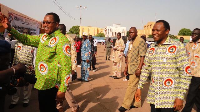 Les responsables du CDP Kadiogo ont dit merci à leurs militants (Ph : B24)