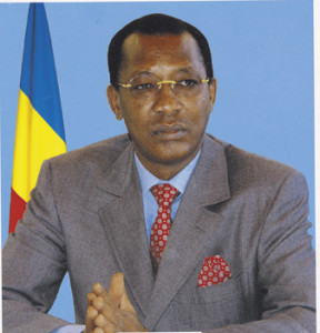 Le Président tchadien Idriss Déby Itno