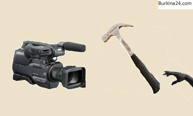 Les marteaux ne doivent plus taper sur les caméras des journalistes (Image B24)