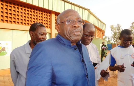 Le MESS Moussa Ouattara assure que le gouvernement rencontrera les syndicats et qu'il n'y aura plus de sujet unique (Ph : B24)