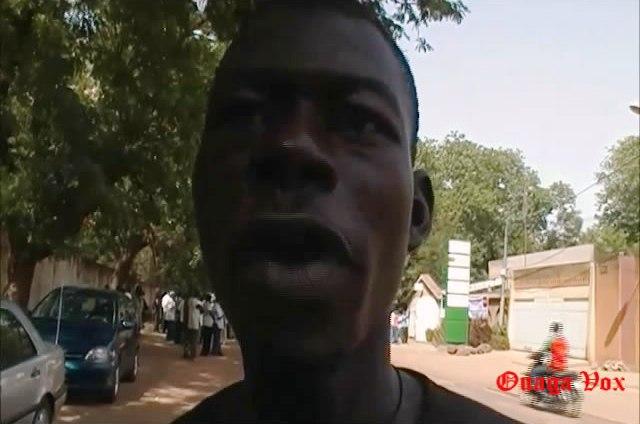Un intervenant à Ouaga Vox (Ph : B24)