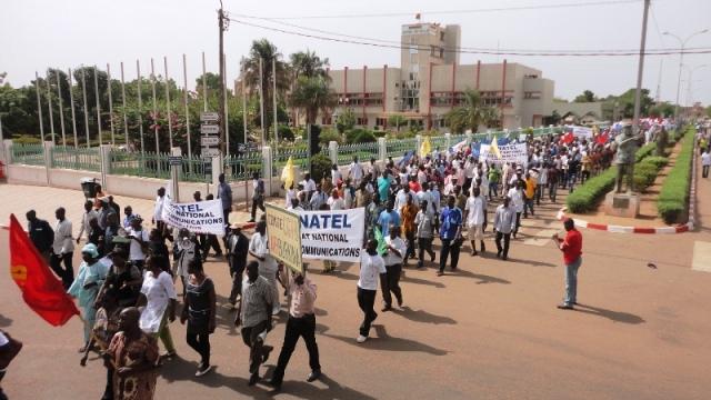 La mobilisation était au rendez-vous ce 1er mai (Ph : b24)