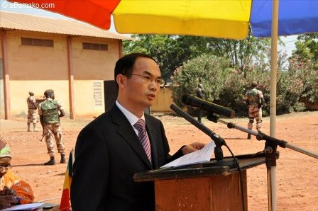 S.E.M. CAO Zhongming, l'Ambassadeur de la Chine au Mali