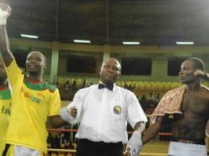 Alexis Kaboré dit Yoyo a conservé son titre de champion d'Afrique version UBA