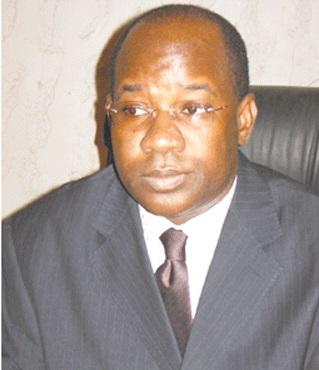 Jérôme Bougouma, ministre de l'Administration territoriale et de la décentralisation (Ph ; B24)