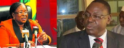 Les ministres Mamounata Belem et Mahama Zoungrana (Ph : lefaso.net, zoodomail)