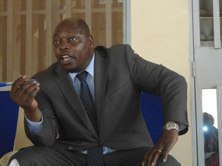 Maxime Kaboré, président du PIB (Ph. B 24)