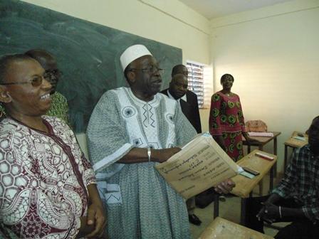 Le MESS, Moussa Ouattara a procédé au lancement des examens (Ph. B 24)