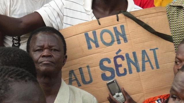 L'opposition appelle les Burkinabè à sortir dire non au sénat le 29 juin prochain (Ph : B24)