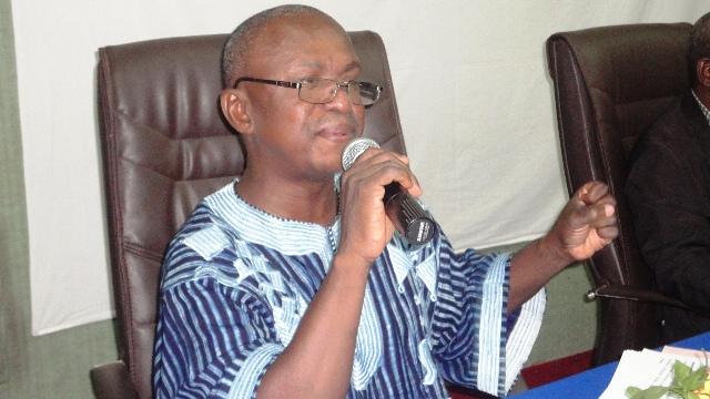 Pierre Dabiré, Président du RAJIT Burkina (Ph: B24)