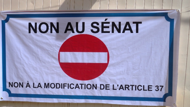 L'opposition dit non au sénat (Ph : B24)