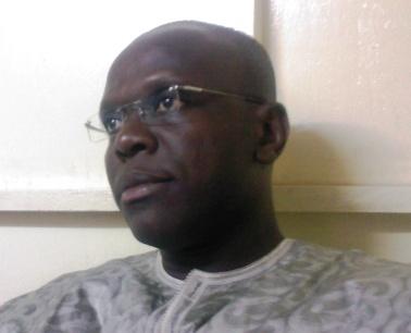 Rémis Fulgence Dandjinou, journaliste-éditorialiste.