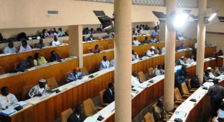 Photo d'archives, assemblée nationale  © Burkina 24