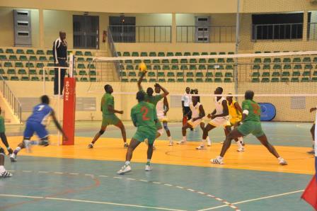 Étalons volleyeurs © Burkina 24
