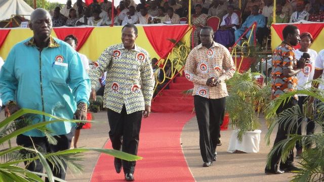 François Compaoré lors d'un meeting de remerciement du CDP le 25 mai 2013 à Ouagadougou (Ph : B24)