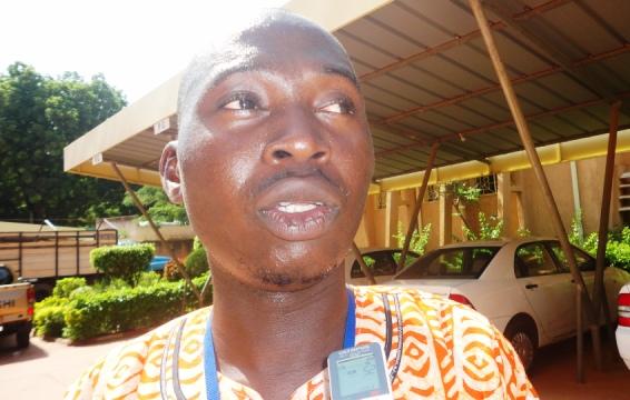 Séni Koanda, le Secrétaire général du SATB (Ph : B24)