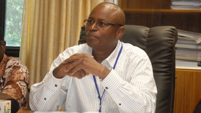 Sadou Sidibé, Président du comité d'organisation des sénatoriales au compte des collectivités (Ph : B24)