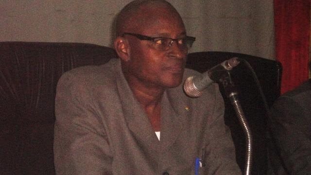 Sadou Sidibé, président du comité d'organisation des élections sénatoriales (Ph : B24)