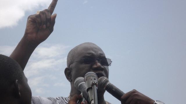 Tolé Sagnon, président de la CCVC (Cliquez sur l'image pour lire la vidéo)