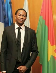 Aziz Dabo, étudiant à Paris, Président du bureau de Fessart
