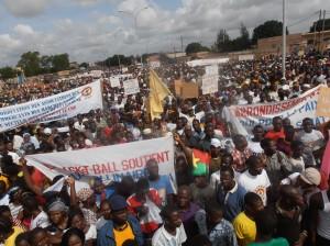 Une vue des manifestants. Ph.B24