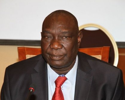 Le président centrafricain Michel Djotodia