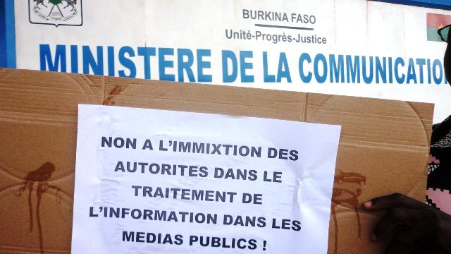 Les travailleurs disent non à l'immixtion (Ph : B24)