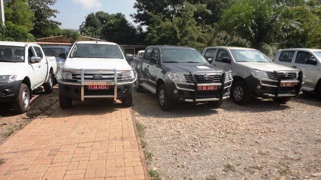 Les véhicules ont été réceptionnés (Ph: B24)