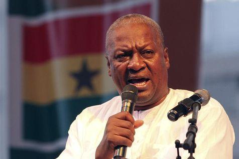 John Dramani Mahama investi président du Ghana (PH:DR)