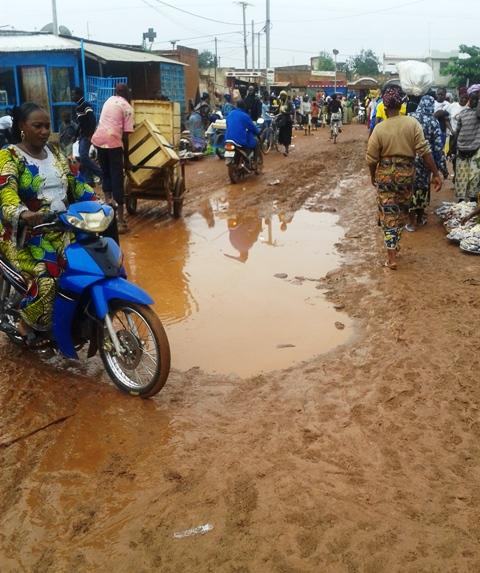 Le marché de katr yaar ©  Burkina 24