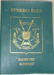 L'ancien passeport burkinabè (Ph : DR)