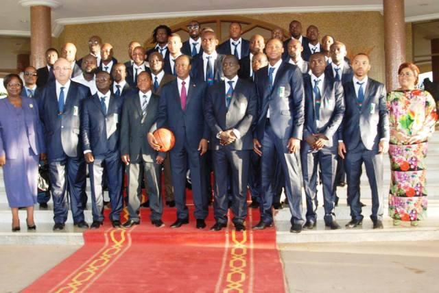 Dernière photo avant le vol pour Abidjan (Ph : B24)