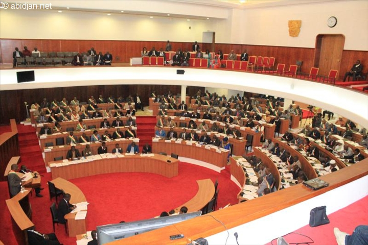 La majorité des députés de l'Assemblée nationale ivoirienne s'est accordée sur les différentes lois ce 23 août (Ph : Abidjan.net)