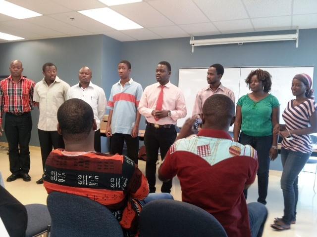 Les membres du bureau de l'ABGM (Ph : B24)