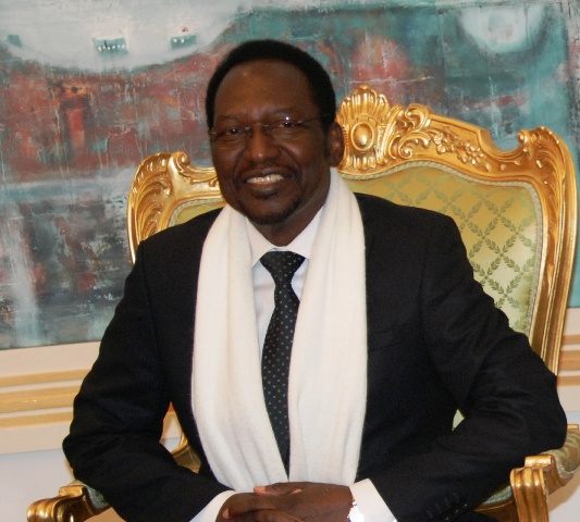 Dioncounda Traoré, le Président malien par intérim : « Quand on n'est pas capable de pardonner, on n'est pas capable d'aller vers la paix » (Ph : B24)