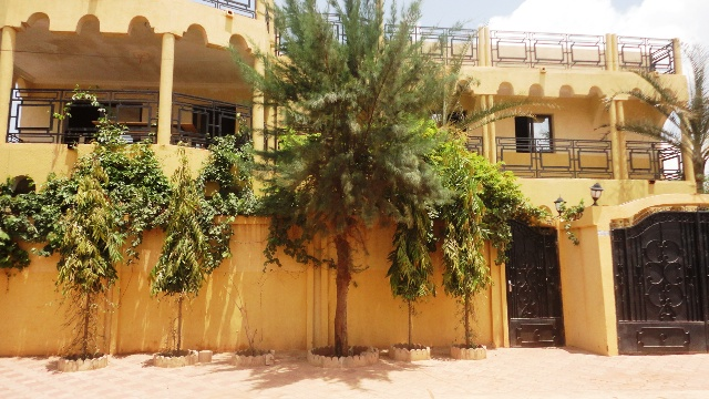 Le domicile de Saran Sérémé où les étudiantes ont élu domicile (Ph : B24)