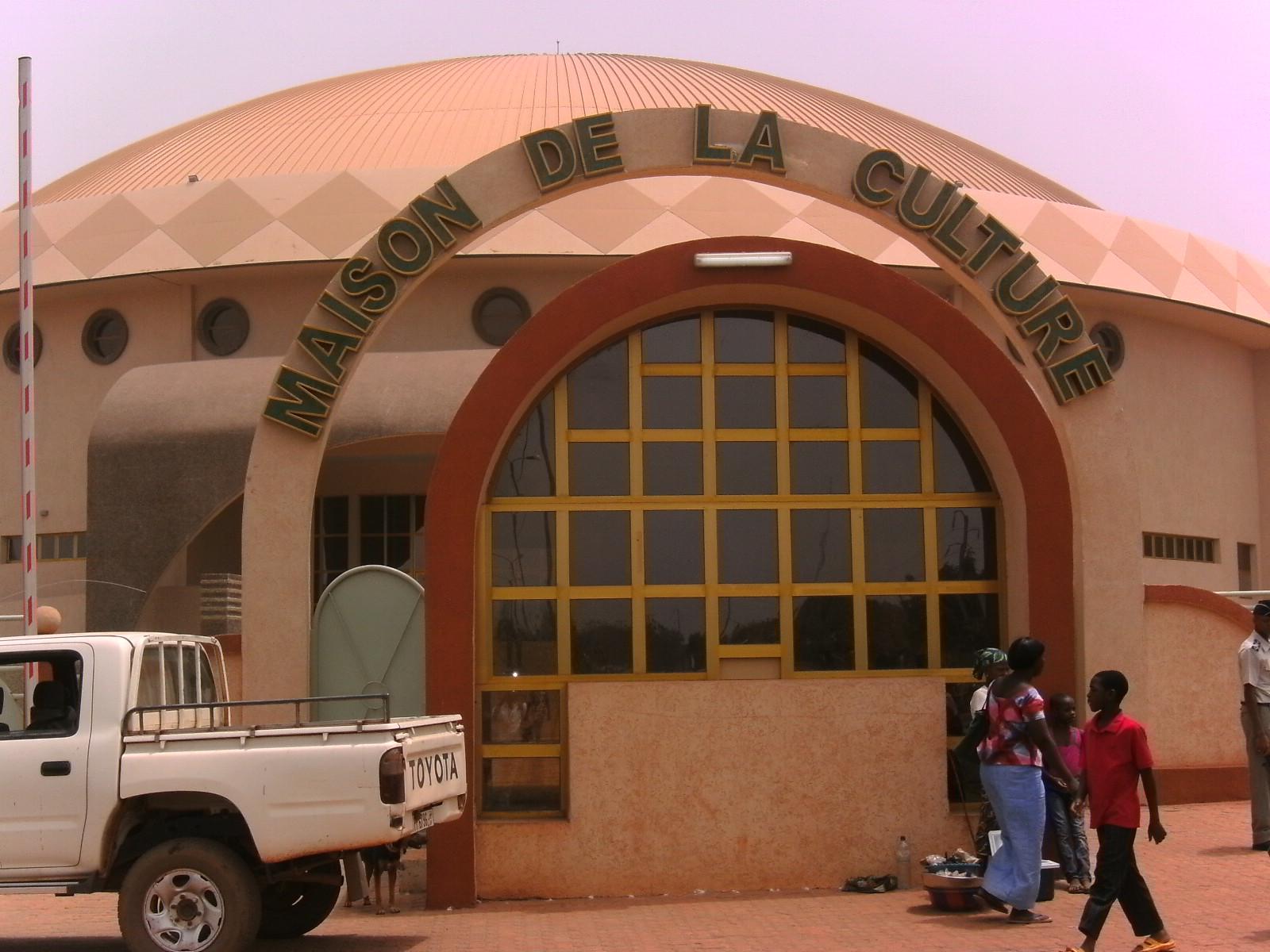 La Maison de la Culture à Bobo. Photo d'illustration (Ph : B24)