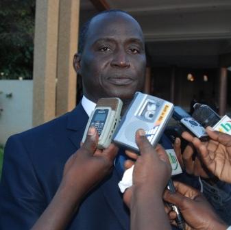 Le Président de la FEBBA Joachim Baky © Burkina 24