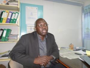 Moussa Siemdé, chef de service production de l'ONEA Bobo. Ph.B24